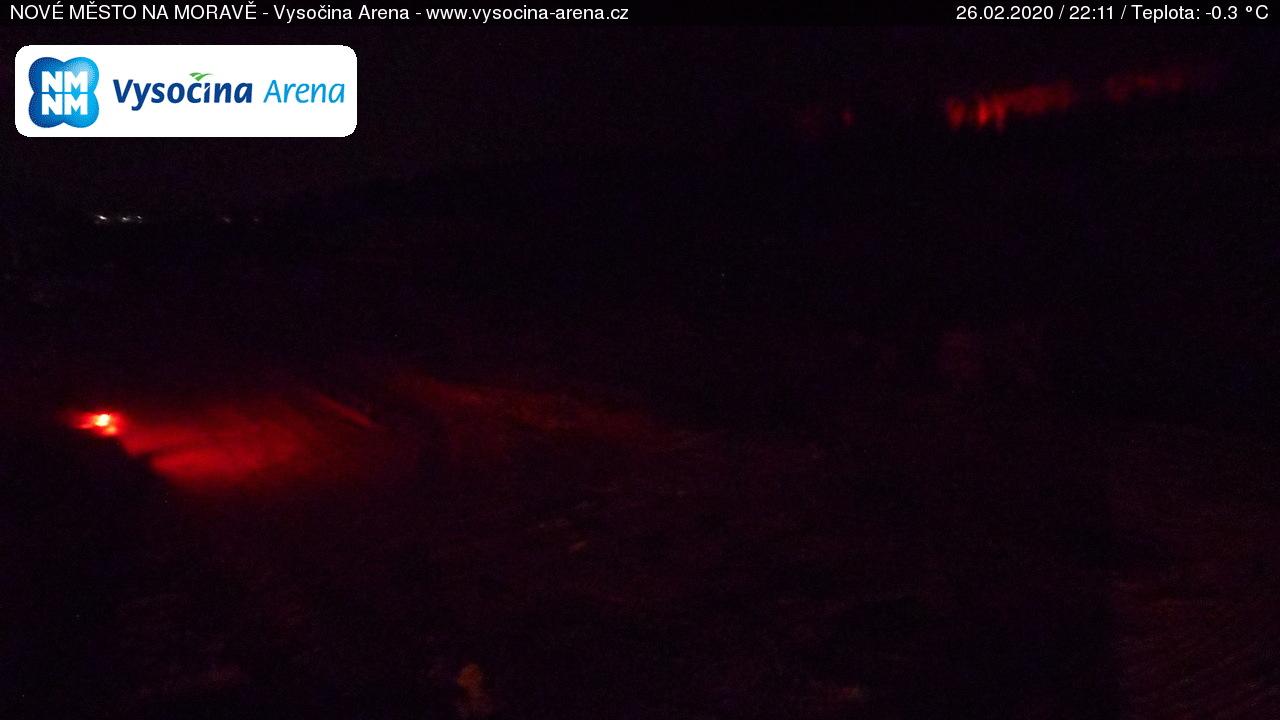 Webkamera Nové Město na Moravě - aréna